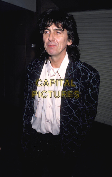 GEORGE HARRISON.Ref: 026.www.capitalpictures.com.sales@capitalpictures.com.© Capital Pictures.dead, deceased, ex-beatles, half length, half-length