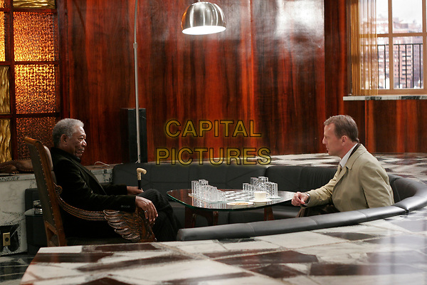 Lucky Number Slevin (2006) <br /> Bruce Willis &amp; Morgan Freeman<br /> *Filmstill - Editorial Use Only*<br /> CAP/KFS<br /> Image supplied by Capital Pictures