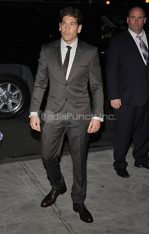New York,NY October 14: Jon Bernthal attends the 'Fury' New York Premiere at DGA Theater on October 14, 2014 in New York City Credit: John Palmer/MediaPunch