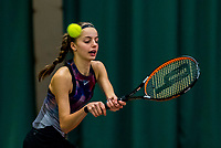 Wateringen, The Netherlands, March 16, 2018,  De Rhijenhof , NOJK 14/18 years, Nat. Junior Tennis Champ. Florentine Dekkers (NED)<br /> Photo: www.tennisimages.com/Henk Koster