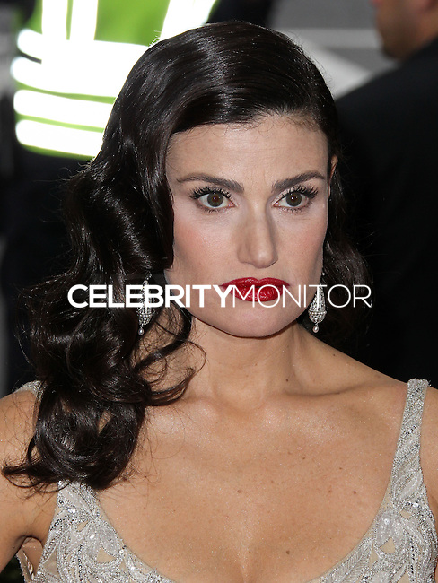 "NEW YORK CITY, NY, USA - MAY 05: Idina Menzel at the ""Charles James: Beyond Fashion"" Costume Institute Gala held at the Metropolitan Museum of Art on May 5, 2014 in New York City, New York, United States. (Photo by Xavier Collin/Celebrity Monitor)"