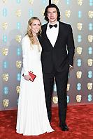 Adam Driver<br /> arriving for the BAFTA Film Awards 2019 at the Royal Albert Hall, London<br /> <br /> ©Ash Knotek  D3478  10/02/2019