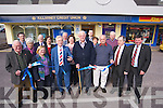 Sean O'Grady, one of the founding members of the Killarney Credit Union, pictured with the board of directors and founding members of the Killarney Credit Union, as he cut the ribbon at the new sub office on Park Road shopping centre on Saturday.....