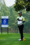 Fahmi Reza of Indonesia tees off during the 2011 Faldo Series Asia Grand Final on the Faldo Course at Mission Hills Golf Club in Shenzhen, China. Photo by Victor Fraile / Faldo Series