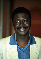 31st March 2020, France; It has been announced that Pape Diouf, ex-President of League 1 football club in France has died from Covid-19 Coroma Virus.   Pape DIOUF - portrait
