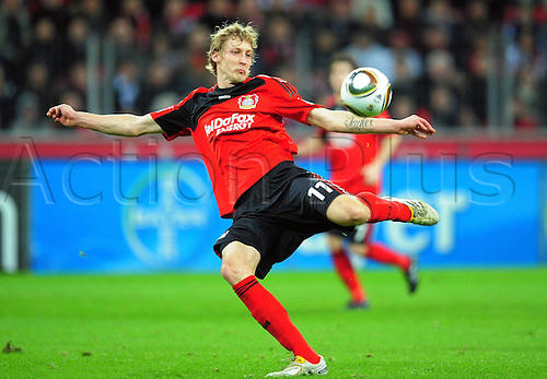 Bundesliga Season Bayer Leverkusen v FC Cologne Stefan KieBling Bayer Leverkusen. Photo: Imago/Actionplus. Editorial Use UK.