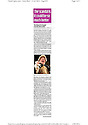 School for Scandal, Theatre Royal Bath. Daily Mail usage. 13.7.12
