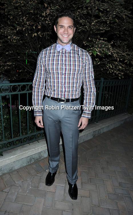 Brandon Barash attending ABC Casino Night on October 28, 2010 at Guastavinos in New York City. .
