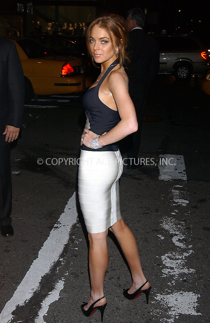 WWW.ACEPIXS.COM . . . . . ....June 8 2006, New York City....LINDSAY LOHAN arriving at the Cartier Charity Love Bracelet Party at their fifth Avenue Store in Manhattan....Please byline: KRISTIN CALLAHAN - ACEPIXS.COM.. . . . . . ..Ace Pictures, Inc:  ..(212) 243-8787 or (646) 679 0430..e-mail: picturedesk@acepixs.com..web: http://www.acepixs.com