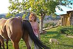 Dick Pfiffner, Connie Pfiffner, Pat Lake (red hair) house near Hornbrook, California, The Great 403 West Mercer Reunion September 14-18, 2013