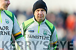 Kerry Manager Peter Keane at the Munster Minor Quarter Final at Austin Stack Park Tralee on Wednesday night.