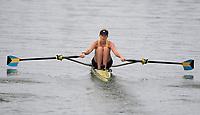 Rio de Janeiro. BRAZIL.  BAH W1X. Emily MORLEY,  start. 2016 Olympic Rowing Regatta. Lagoa Stadium,<br /> Copacabana,  &ldquo;Olympic Summer Games&rdquo;<br /> Rodrigo de Freitas Lagoon, Lagoa.   Monday  08/08/2016 <br /> <br /> [Mandatory Credit; Peter SPURRIER/Intersport Images]