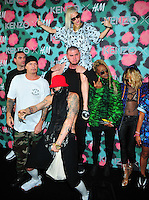 NEW YORK, NY - OCTOBER 19: Die Antwoord attends KENZO x H&M - Arrivals at Pier 36 on October 19, 2016 in New York City. Credit: John Palmer / MediaPunch