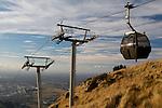 Banks Peninsula gondola, Christchurch, New Zealand