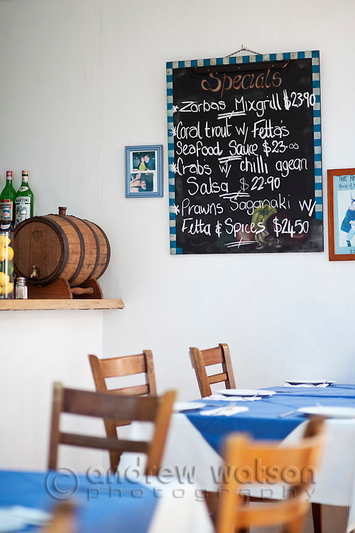 Fettas Greek Restaurant.  Cairns, Queensland, Australia
