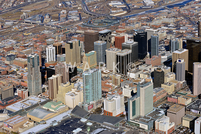 Downtown Denver skyline,   Feb 2013