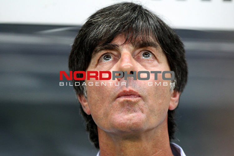 15.08.12, Frankfurt am Main, Commerzbank-Arena, GER,  Freundschaftsspiel, Laenderspiel, Deutschland vs Argentinien <br />  im Bild  Bundestrainer Joachim L&ouml;w (GER)  <br /> <br />  // during the match between Deutschland and Argentinien  on 2012/08/15 <br />   Foto &copy; nph / Hessland