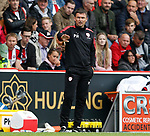 Paul Heckingbottom manager of Barnsley during the Championship League match at Bramall Lane Stadium, Sheffield. Picture date 19th August 2017. Picture credit should read: Simon Bellis/Sportimage