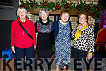 Catherine Griffin, Mary Moloney, Nora Sweeney and Kathleen Mason at the Red Cross Senior Citizens party in the Ashe Hotel on Sunda