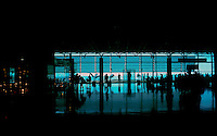 Departure lounge at Reina Sofia airport.Tenerife, Canary Islands, Spain
