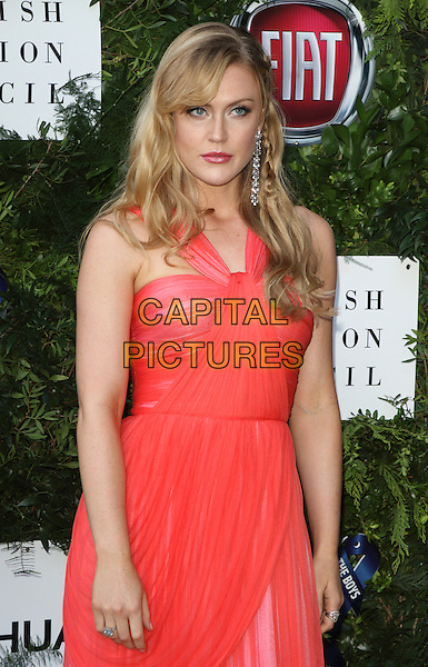 Camilla Kerslake at the One For The Boys Charity Ball, Victoria and Albert Museum, London on June 12th 2016<br /> CAP/ROS<br /> &copy;Steve Ross/Capital Pictures
