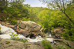 Devil's Hopyard State Park, East Haddam, CT. Chapman Falls and Eight Mile River.