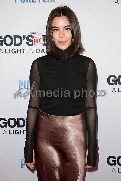 """20 March 2018 - Hollywood, California - Samantha Boscarino. """"God's Not Dead: A Light In Darkness"""" Premiere held at American Cinematheque Egyptian Theatre. Photo Credit: F. Sadou/AdMedia"""