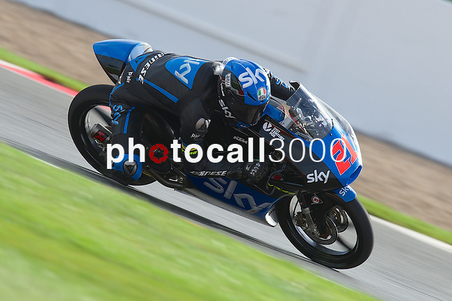 hertz british grand prix during the world championship 2014.<br /> Silverstone, england<br /> August 28, 2014. <br /> FP Moto3<br /> francesco bagnaia<br /> PHOTOCALL3000/ RME