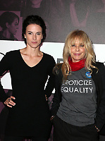 LOS ANGELES, CA - NOVEMBER 2: Chantal Cousineau, Rosanna Arquette, at TheWrap&rsquo;s Power Women&rsquo;s Summit Day2 at the InterContinental Hotel in Los Angeles, California on November 2, 2018. <br /> CAP/MPI/FS<br /> &copy;FS/MPI/Capital Pictures