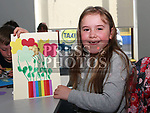Ciara Hampton at the Easter Craft Workshop in Drogheda Library.<br /> <br /> Photo: Jenny Matthews