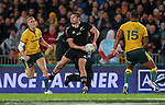 George Bridge. Bledisloe Cup Rugby, All Blacks v Wallabies, Eden Park, Auckland, Saturday 17 August 2019. Photo: Simon Watts/www.bwmedia.co.nz