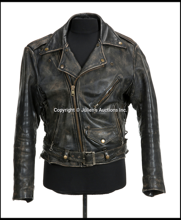 "BNPs.co.uk (01202 558833)<br /> Pic: JuliensAuctions/BNPS<br /> <br /> Patrick Swayze's leather jacket from Dirty Dancing is estimated at £4,790.<br /> <br /> The iconic leather jacket worn by Patrick Swayze as he delivers the famous line ""Nobody puts Baby in a corner"" is up for grabs.<br /> <br /> The notable piece of clothing from the 1987 classic Dirty Dancing has been given a conservative estimate of less than £5,000 but auctioneer Darren Julien says the ""Holy Grail"" of Swayze memorabilia could fetch more than six times that.<br /> <br /> The surfboard from Point Break (1991) and Swayze's shirt from Ghost (1990) are also among the key lots being sold by his wife of 34 years, Lisa Niemi.<br /> <br /> The Hollywood items being sold by Julien's in Los Angeles, following the star's death from pancreatic cancer in 2009, offer film fans the chance to own a piece of pop culture history.<br /> <br /> The memorabilia will be sold in Los Angeles on April 28 and 29."
