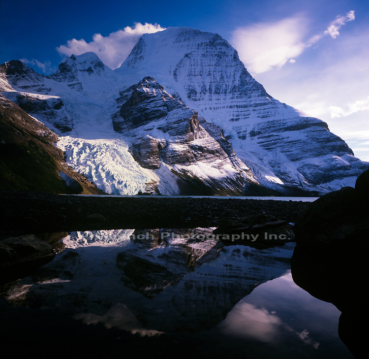 Berg Lake,Mt Robson Provincial Park,Canada,BC
