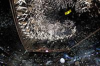 MADRI, ESPANHA, 13 DE MAIO 2012 - CAMPEONATO ESPANHOL - RODADA 38 - REAL MADRID X MALLORCA - Celebracao da conquista do Campeonato Espanhol pelo Real Madrid apos enfrentar o Mallorca em partida valida pela ultima rodada do Campeonato Espanhol, no Estadio Santiago Bernabeu em Madri capital da Espanha, neste domingo dia 13. (FOTO: WILLIAM VOLCOV / BRAZIL PHOTO PRESS).