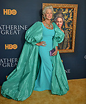 "a_ Helen Mirren 005 attends the Los Angeles Premiere Of The New HBO Limited Series ""Catherine The Great"" at The Billy Wilder Theater at the Hammer Museum on October 17, 2019 in Los Angeles, California."