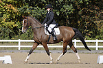 Class 4. Unaffiliated Dressage. Brook Farm training centre. Essex. 30/09/2017. MANDATORY Credit Garry Bowden/Sportinpictures - NO UNAUTHORISED USE - 07837 394578