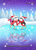 Roger, CHRISTMAS ANIMALS, WEIHNACHTEN TIERE, NAVIDAD ANIMALES, paintings+++++,GBRM19-0089,#xa#