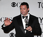 Hugh Jackman pictured at the 66th Annual Tony Awards held at The Beacon Theatre in New York City , New York on June 10, 2012. © Walter McBride
