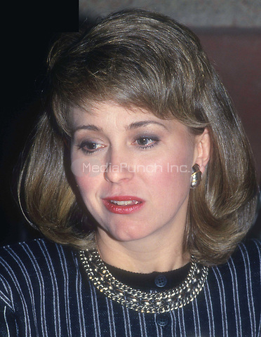 Jane Pauley 1989<br /> Photo By John Barrett/PHOTOlink.net /MediaPunch