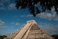 The Mayan archeological ruins of Chichen Itza, Yucatan, Mexico