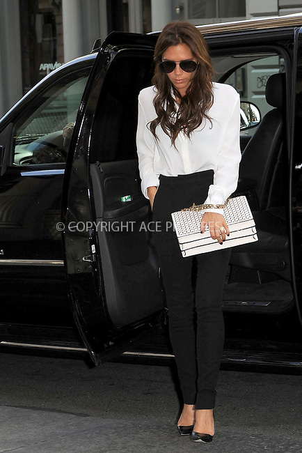 WWW.ACEPIXS.COM . . . . . .September 11, 2012...New York City....Victoria Beckham shopping in Soho on September 11, 2012 in New York City. ....Please byline: KRISTIN CALLAHAN - WWW.ACEPIXS.COM.. . . . . . ..Ace Pictures, Inc: ..tel: (212) 243 8787 or (646) 769 0430..e-mail: info@acepixs.com..web: http://www.acepixs.com .