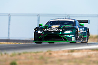 12th January 2020; The Bend Motosport Park, Tailem Bend, South Australia, Australia; Asian Le Mans, 4 Hours of the Bend, Race Day; The number 77 D'Station Racing GT driven by Satoshi Hoshino, Tomonobu Fujii, Ross Gunn during the race - Editorial Use