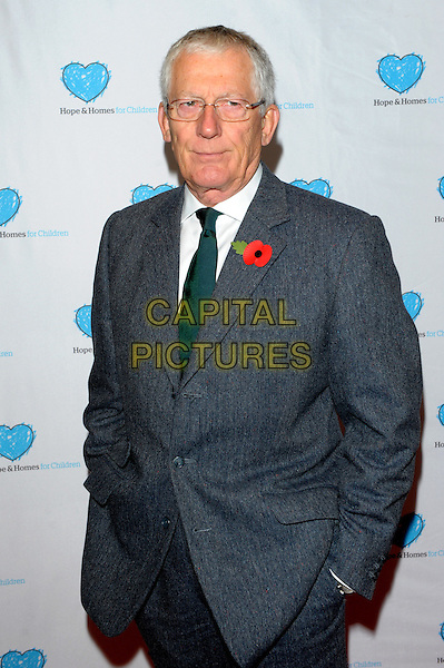 LONDON, ENGLAND - NOVEMBER 05: Nick Hewer attends the UK Premiere of 'Finding Family' at Vue West End on November 5, 2013 in London, England.<br /> CAP/CJ<br /> &copy;Chris Joseph/Capital Pictures