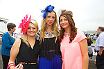 Enjoying Ladies Day at the Listowel Races on Friday were: Ciara Collins, Juilette O'Sullivan and Treasa Murphy from Abbeyfeale