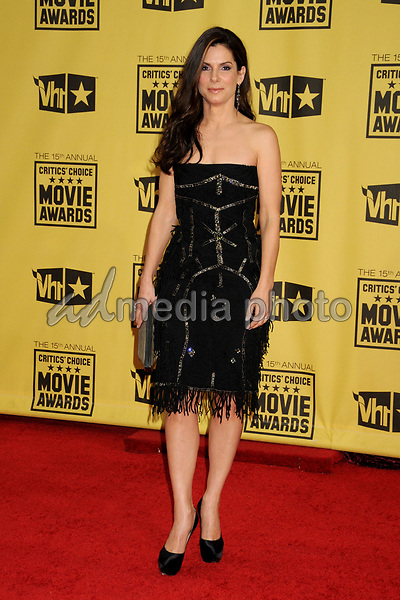 15 January 2010 - Hollywood, California - Sandra Bullock. 15th Annual Critics' Choice Movie Awards - Arrivals held at the Hollywood Palladium. Photo Credit: Byron Purvis/AdMedia