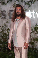 "LOS ANGELES - OCT 21:  Jason Momoa at the Apple TV+'s ""See"" Premiere Screening at the Village Theater on October 21, 2019 in Westwood, CA"