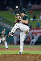Greensboro Grasshoppers starting pitcher Tyler Kolek (30) in action against the Greenville Drive at NewBridge Bank Park on August 17, 2015 in Greensboro, North Carolina.  The Drive defeated the Grasshoppers 5-4 in 13 innings.  (Brian Westerholt/Four Seam Images)