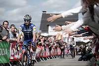 Julian Alaphilippe (FRA/Deceuninck Quick Step) pre race<br /> <br /> <br /> 83th Flèche Wallonne 2019 (1.UWT)<br /> 1 Day Race: Ans – Huy 195km<br /> <br /> ©kramon