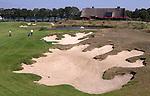 GEMERT-BAKEL - Hole 18.  Golfbaan Stippelberg. COPYRIGHT KOEN SUYK