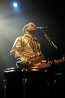 LONDON, ENGLAND - APRIL 11: Kevin Colter Ray of 'Walk The Moon' performing at The Forum on April 11, 2018 in London, England.<br /> CAP/MAR<br /> &copy;MAR/Capital Pictures